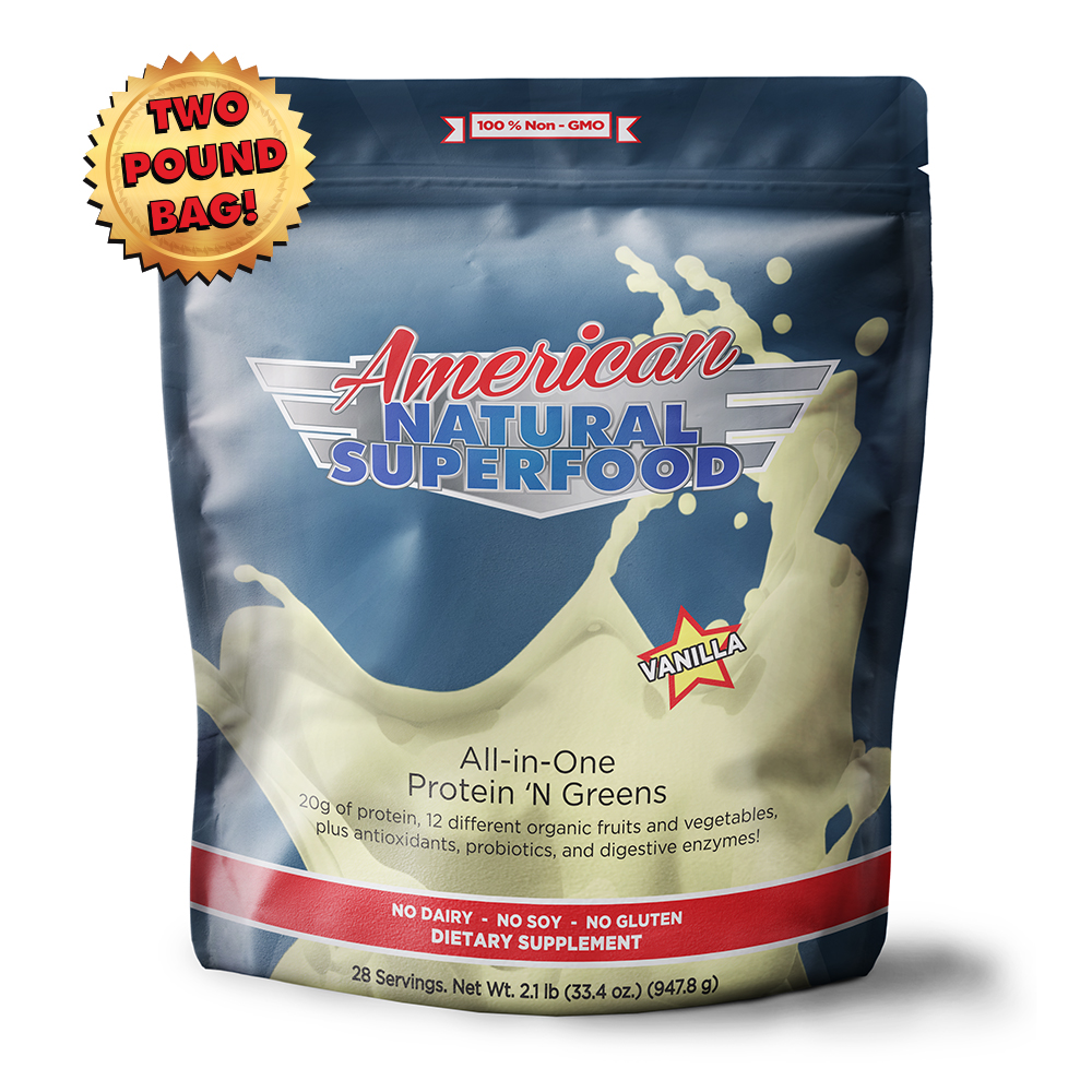 American All-Natural SuperFood Vanilla-sm